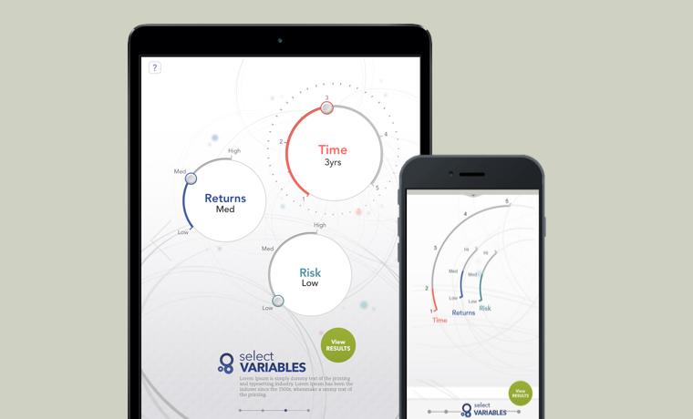 A responsive web app