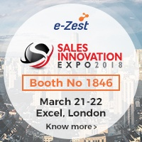 e-Zest at Sales Innovation Expo 2018