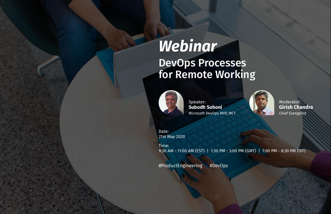 DevOps Processes for Remote Working