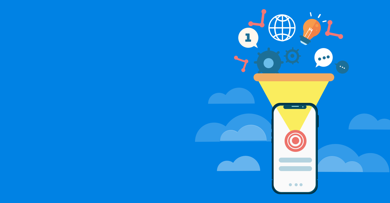 Custom mobile platform to optimize sales operation cycle
