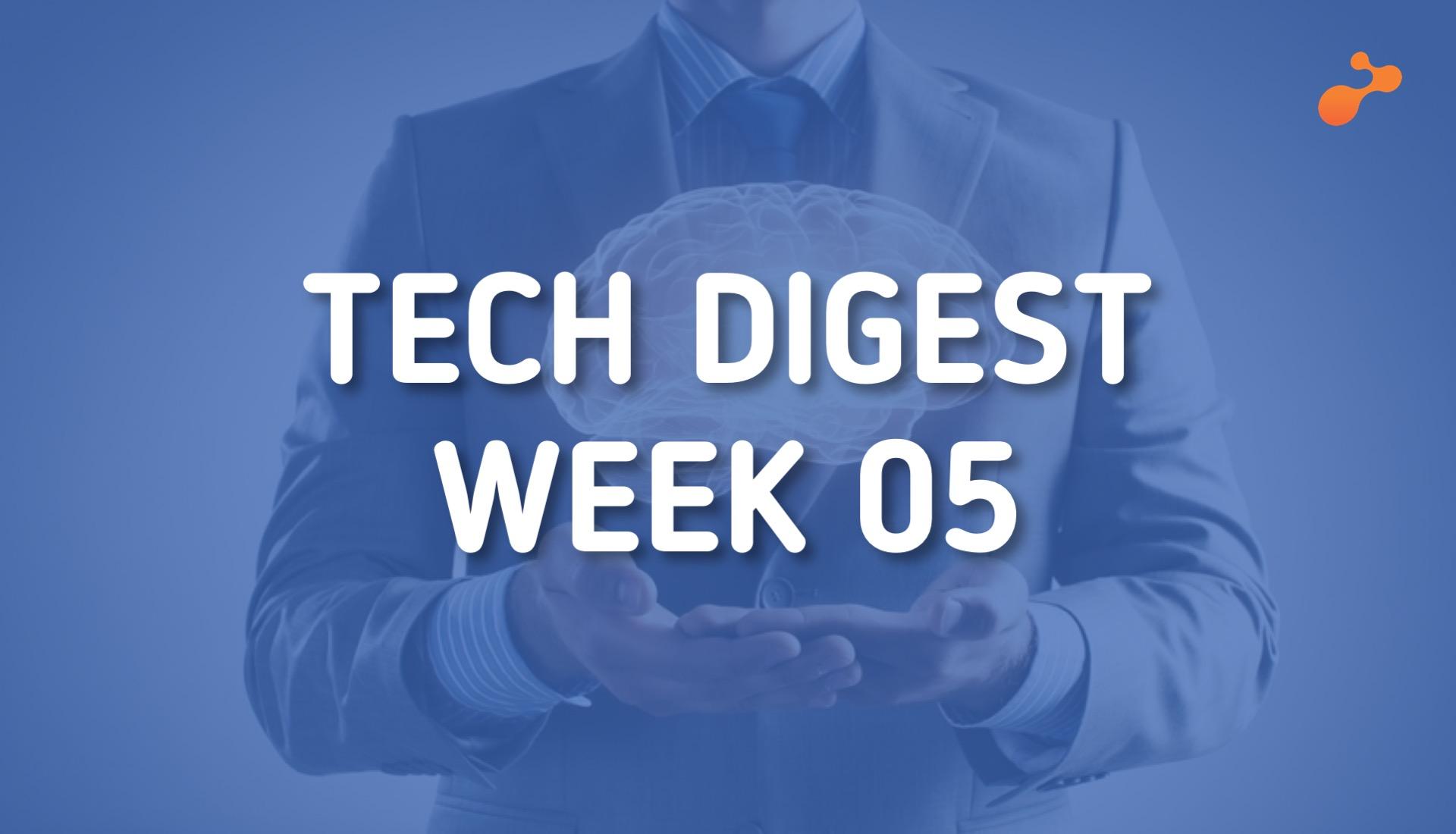 Technology news around the world - Week 05, 2019